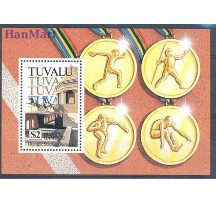 Znaczek Tuvalu 1992 Mi bl 43 Czyste **