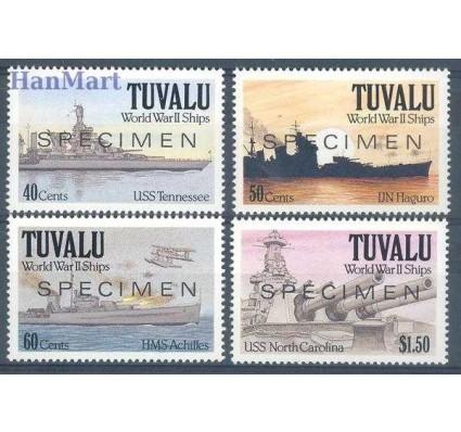 Znaczek Tuvalu 1991 Mi 599-602 Czyste **