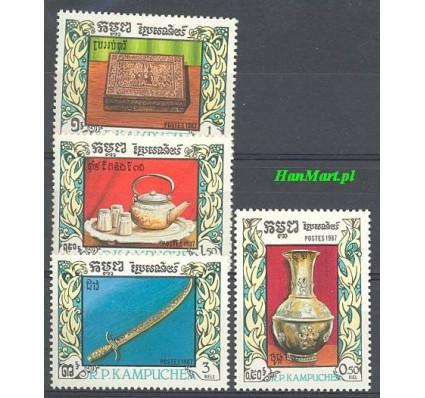 Znaczek Kambodża 1987 Mi 863-866 Czyste **