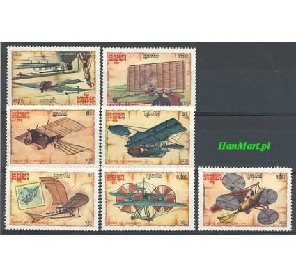 Znaczek Kambodża 1987 Mi 875-881 Czyste **
