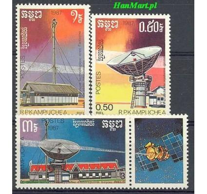 Kambodża 1987 Mi 908-910 Czyste **