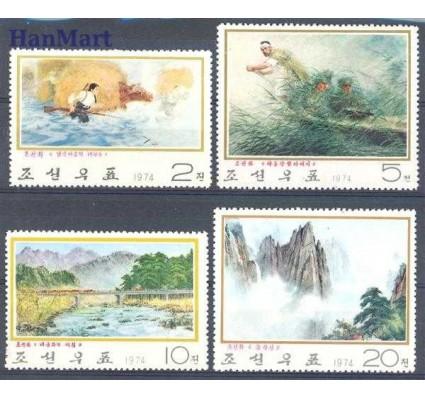 Znaczek Korea Północna 1974 Mi 1291-1294 Czyste **