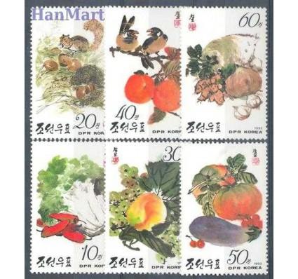 Znaczek Korea Północna 1993 Mi 3445-3450 Czyste **