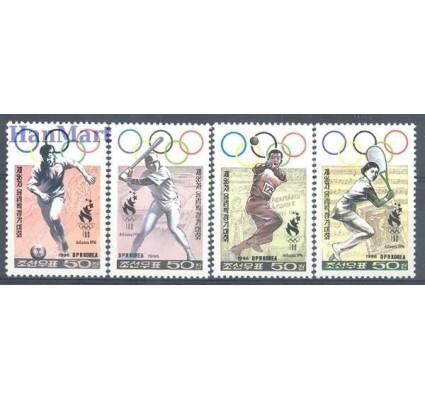 Znaczek Korea Północna 1996 Mi 3856-3859 Czyste **