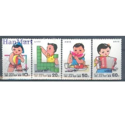 Znaczek Korea Północna 1996 Mi 3865-3868 Czyste **