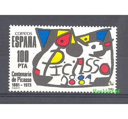 Znaczek Hiszpania 1981 Mi 2493 Czyste **