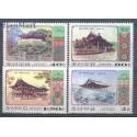 Korea Północna 2001 Mi 4454-4457 Czyste **