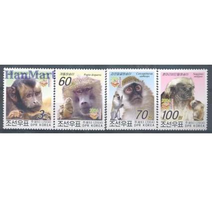 Znaczek Korea Północna 2004 Mi 4731-4734 Czyste **