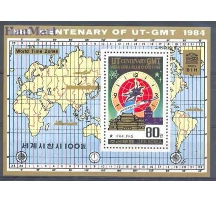 Znaczek Korea Północna 1984 Mi bl 183 Czyste **