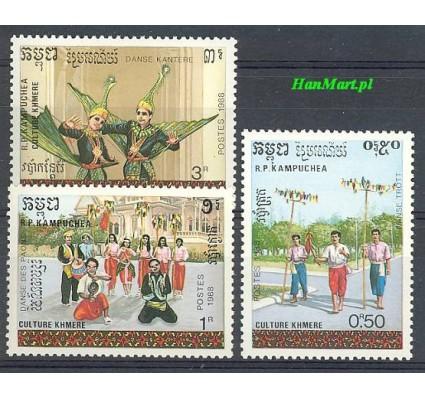 Znaczek Kambodża 1988 Mi 990-992 Czyste **