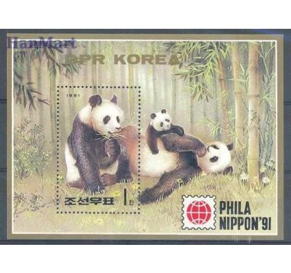 Znaczek Korea Północna 1991 Mi bl 261 Czyste **