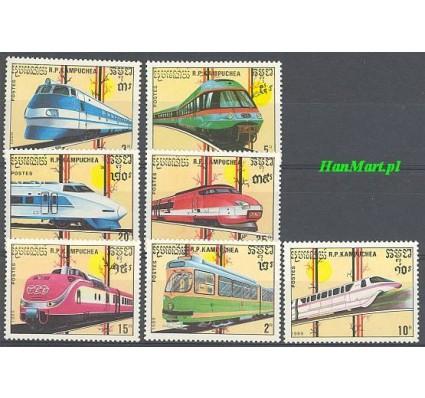 Kambodża 1989 Mi 1007-1013 Czyste **
