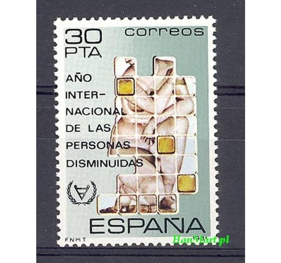 Hiszpania 1981 Mi 2495 Czyste **