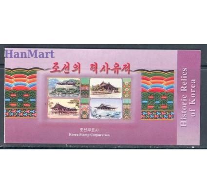 Znaczek Korea Północna 2001 Mi 4454-4457 Czyste **