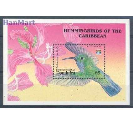 Znaczek Dominika 1992 Mi bl 210 Czyste **