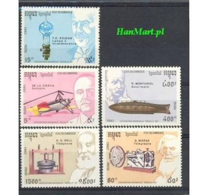 Znaczek Kambodża 1992 Mi 1294-1298 Czyste **