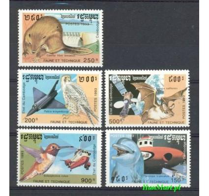 Kambodża 1993 Mi 1335-1339 Czyste **