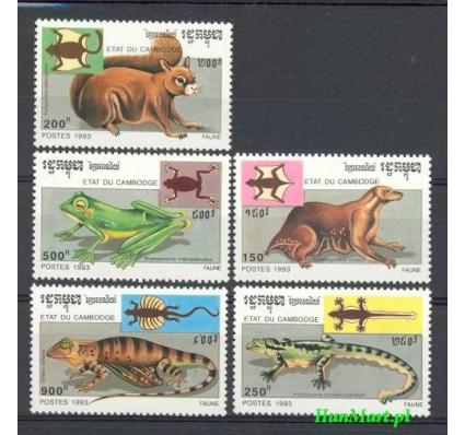 Znaczek Kambodża 1993 Mi 1349-1353 Czyste **