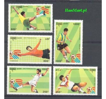 Kambodża 1993 Mi 1376-1380 Czyste **