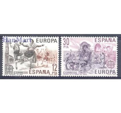 Znaczek Hiszpania 1981 Mi 2498-2499 Czyste **
