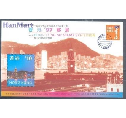 Znaczek Hong Kong 1997 Mi bl 52 Czyste **