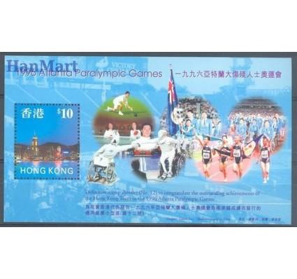 Znaczek Hong Kong 1997 Mi bl 54 Czyste **