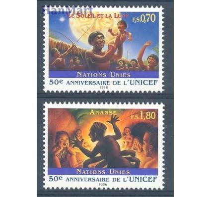 Znaczek Narody Zjednoczone Genewa 1996 Mi 301-302 Czyste **