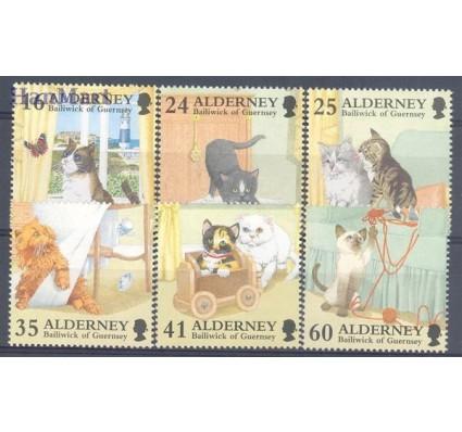 Znaczek Alderney 1996 Mi 94-99 Czyste **