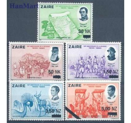 Znaczek Kongo Kinszasa / Zair 1994 Mi 1084-1088 Czyste **