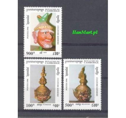 Znaczek Kambodża 1996 Mi 1582-1584 Czyste **
