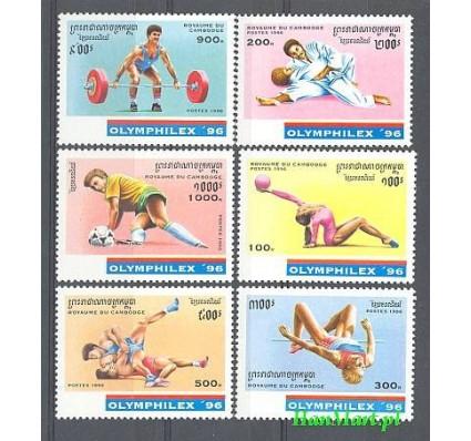 Znaczek Kambodza 1996 Mi 1598-1603 Czyste **