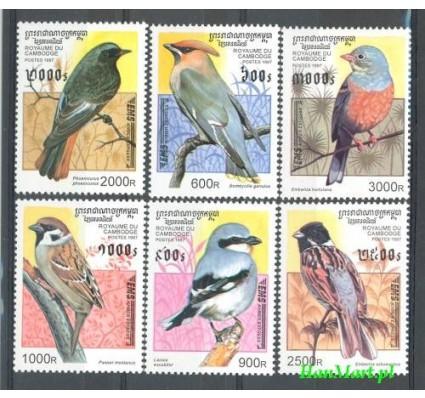 Kambodża 1997 Mi 1684-1689 Czyste **