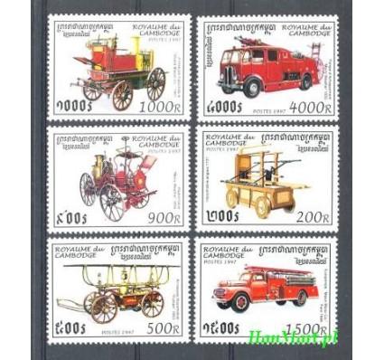 Kambodża 1997 Mi 1690-1695 Czyste **