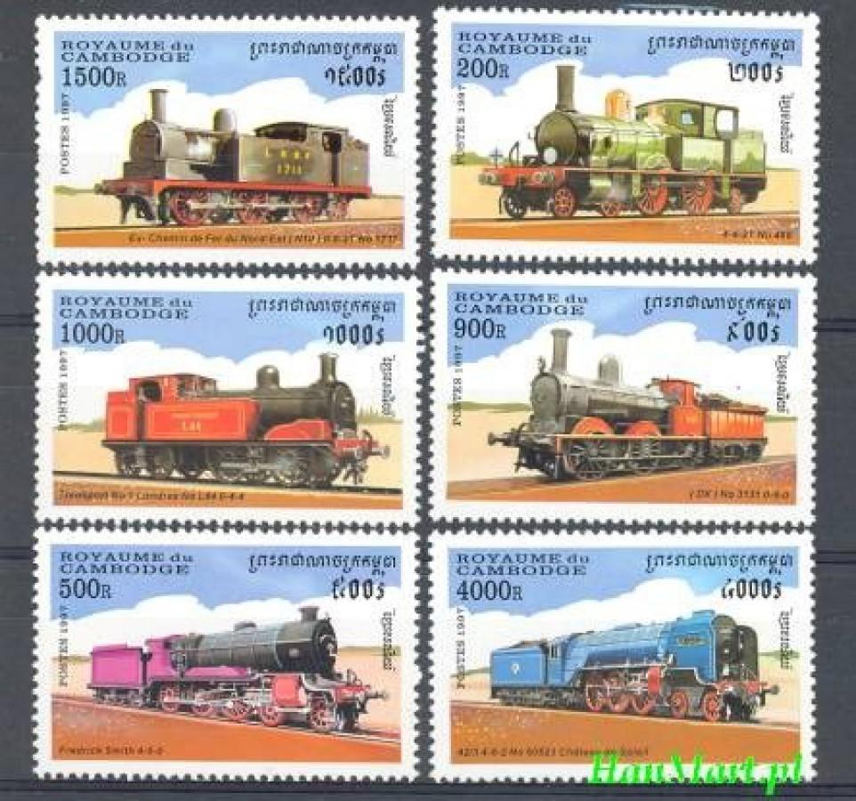 Kambodża 1997 Mi 1724-1729 Czyste **
