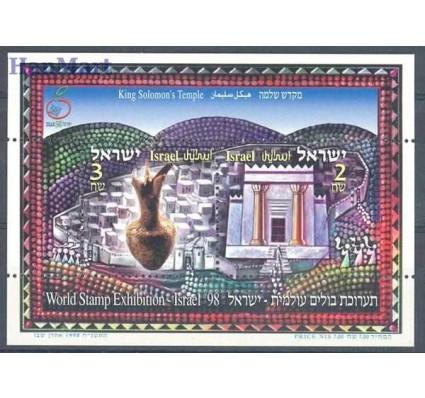 Znaczek Izrael 1998 Mi bl 60 Czyste **