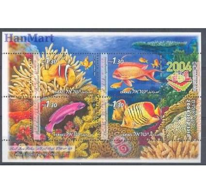 Znaczek Izrael 2004 Mi bl 68 Czyste **