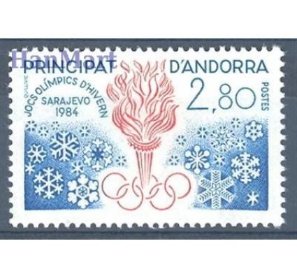 Andora Francuska 1984 Mi 348 Czyste **
