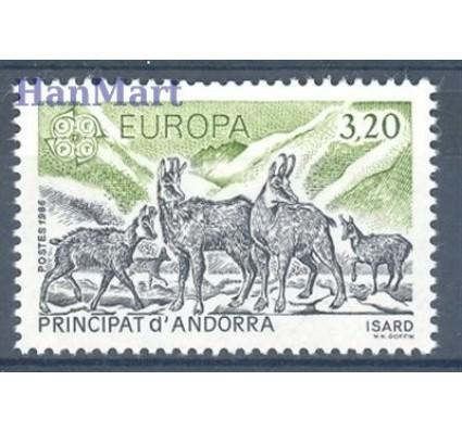 Andora Francuska 1986 Mi 370 Czyste **