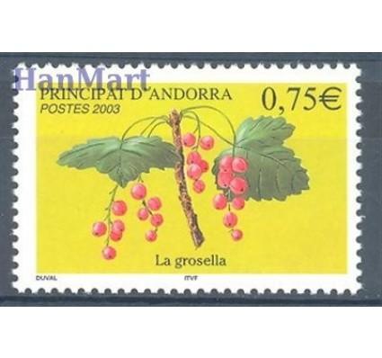 Znaczek Andora Francuska 2003 Mi 605 Czyste **