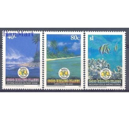 Znaczek Wyspy Kokosowe / Keelinga 1992 Mi 283-285 Czyste **