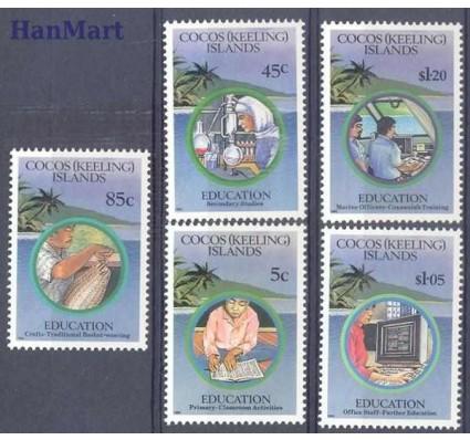 Znaczek Wyspy Kokosowe / Keelinga 1993 Mi 294-298 Czyste **