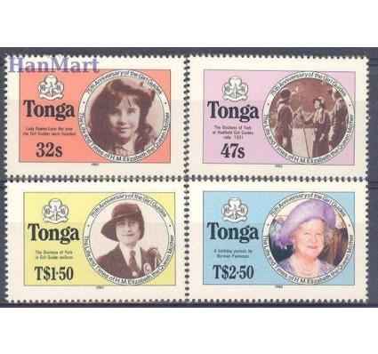 Znaczek Tonga 1985 Mi 924-927 Czyste **
