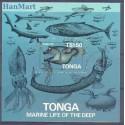 Tonga 1985 Mi bl 6 Czyste **