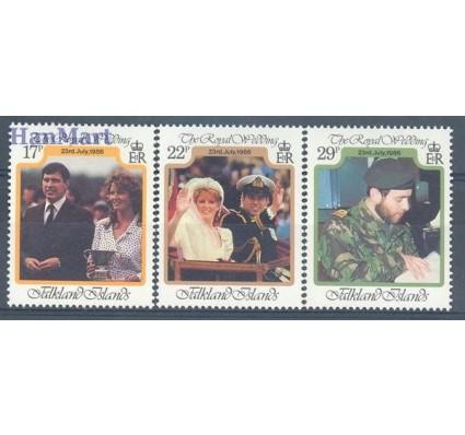 Znaczek Falklandy 1986 Mi 457-459 Czyste **