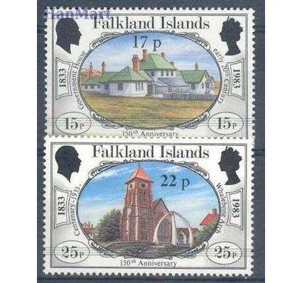 Znaczek Falklandy 1984 Mi 405-406 Czyste **