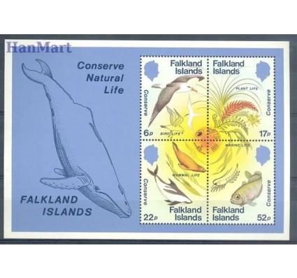 Znaczek Falklandy 1984 Mi bl 4 Czyste **