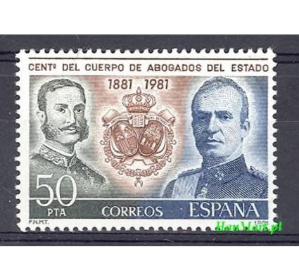 Znaczek Hiszpania 1981 Mi 2507 Czyste **