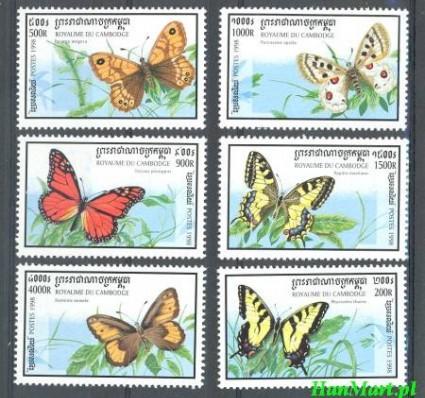 Kambodża 1998 Mi 1859-1864 Czyste **