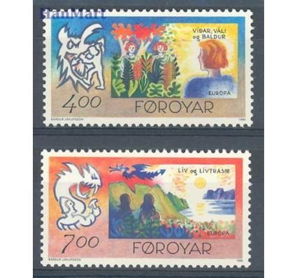 Znaczek Wyspy Owcze 1995 Mi 278-279 Czyste **
