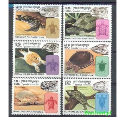 Kambodża 1998 Mi 1868-1873 Czyste **